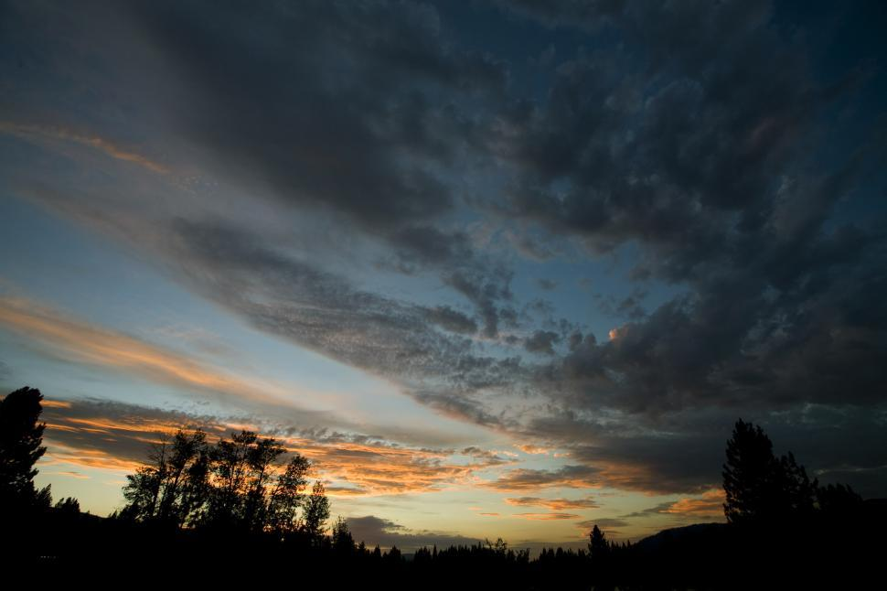 Download Free Stock HD Photo of sunset over sky Online