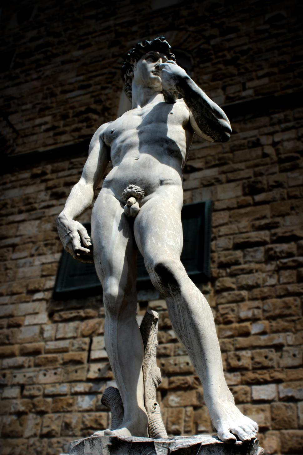 Download Free Stock HD Photo of Statue of David - Outside of Palazzo Vecchio - Florence - Italy  Online