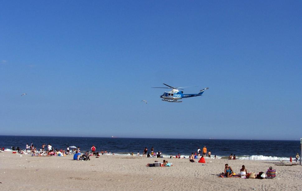 Download Free Stock HD Photo of Copter At The Beach Online