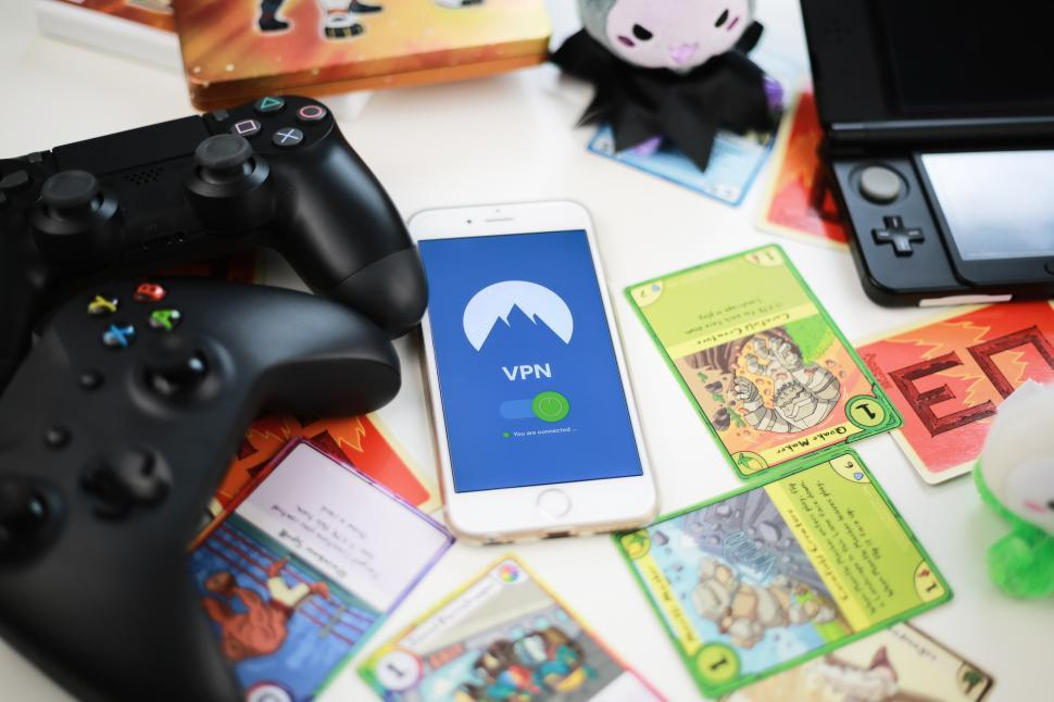 Download Free Stock HD Photo of Play safe with VPN for gaming Online