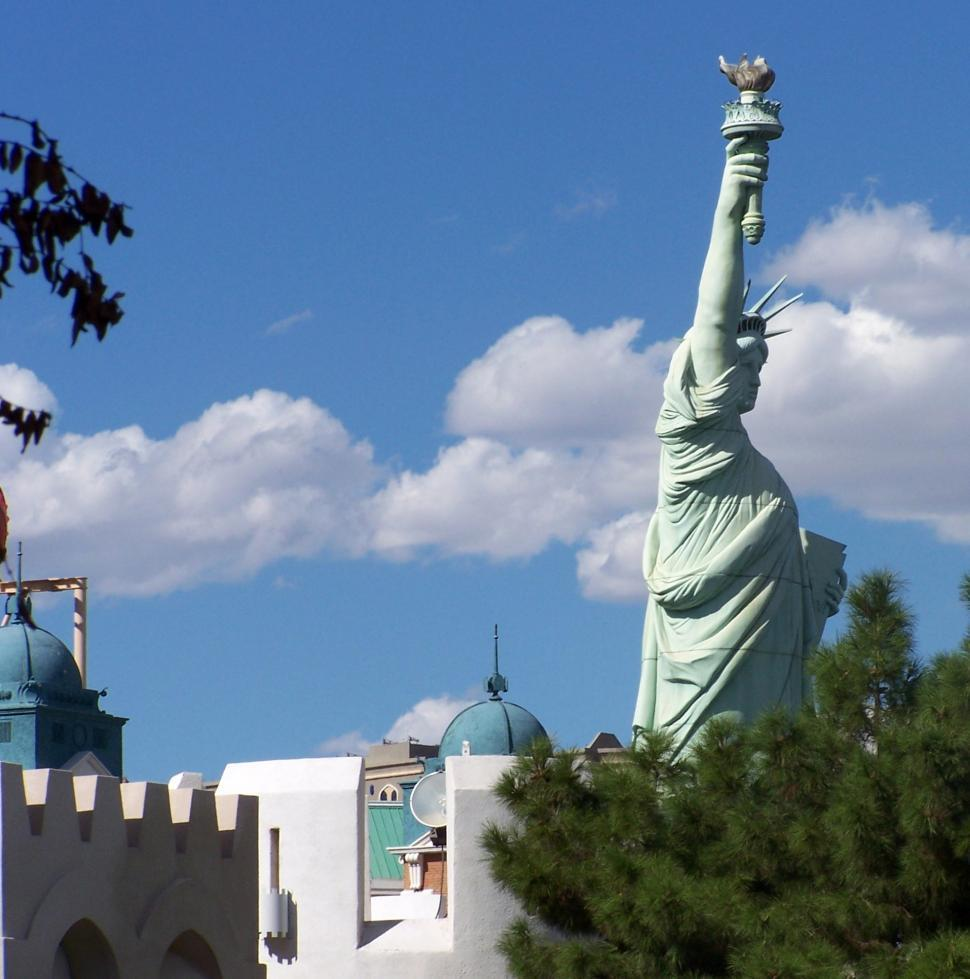 The Statue of Liberty in Las Vegas
