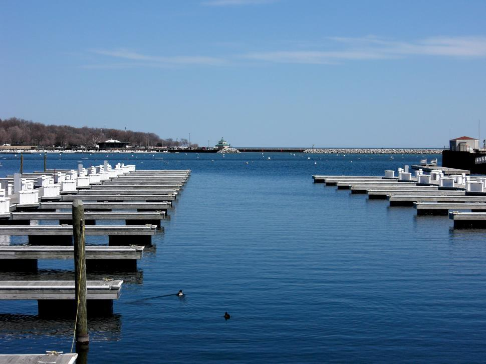 Download Free Stock HD Photo of The Lonely Docks Online