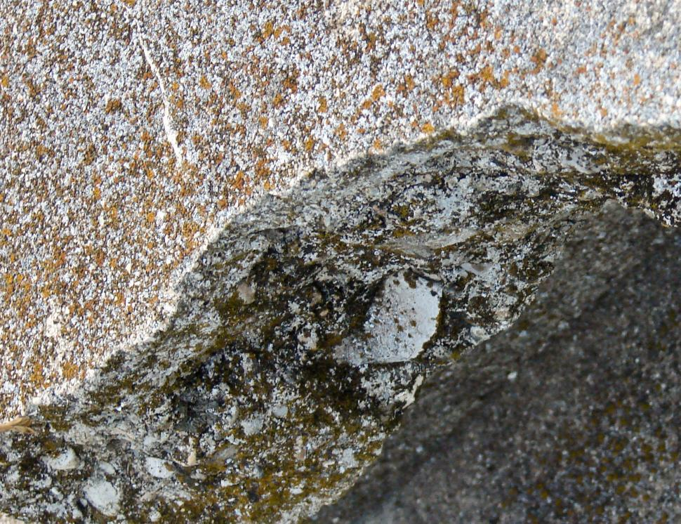 Download Free Stock HD Photo of FoundationBroken Foundation Detail 2009 - YS, OH Online