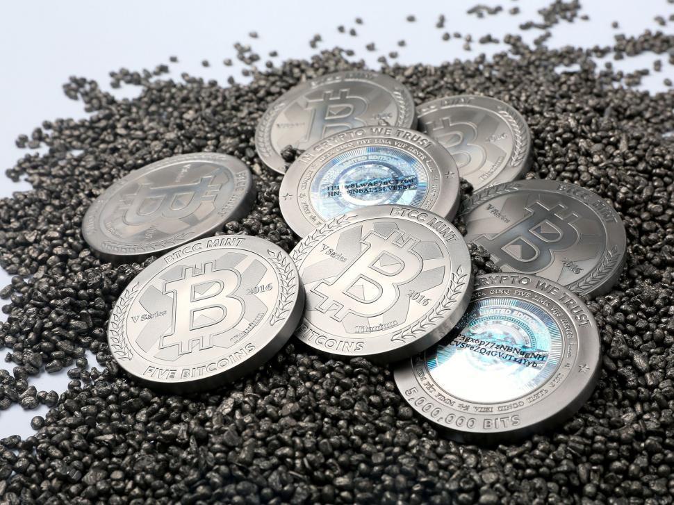 Titanium Bitcoin - Coins