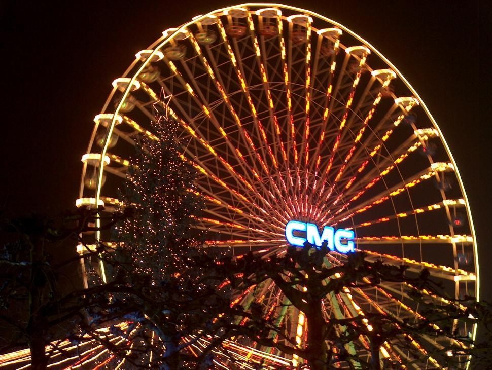 Download Free Stock HD Photo of Ferris wheel, Maastricht, Netherlands Online