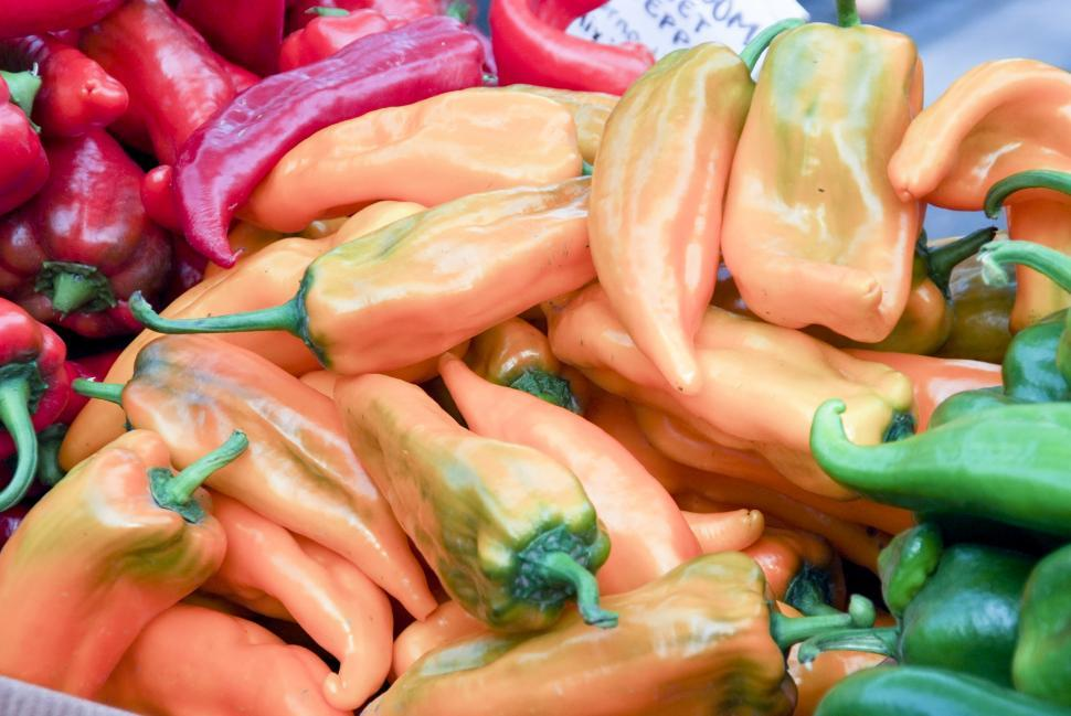 Download Free Stock HD Photo of Farmers Market - Peppers Online
