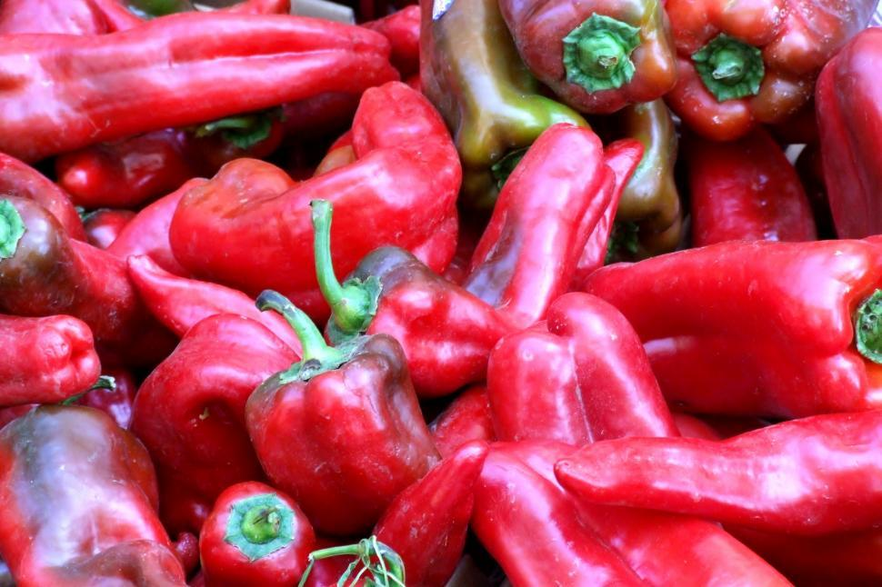 Download Free Stock HD Photo of Red Bell Peppers Online