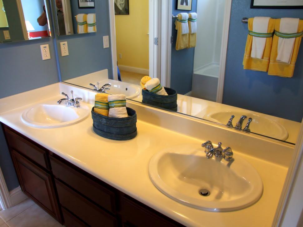 free stock photo of bathroom sinks