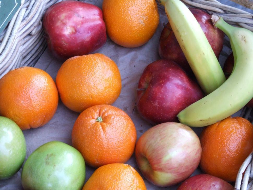 Download Free Stock HD Photo of Apple Orange Banana Online