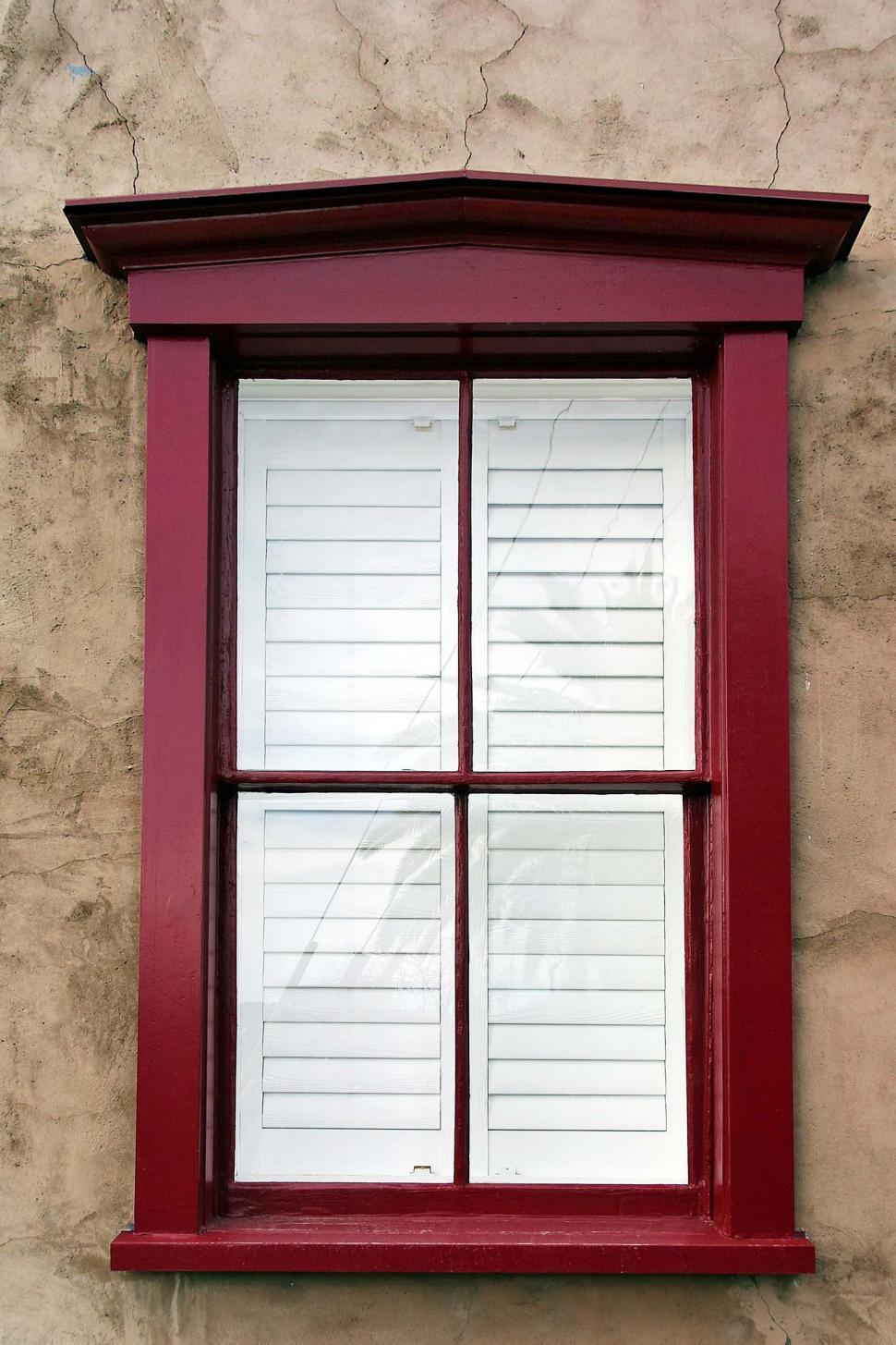 Download Free Stock HD Photo of Modern window, old wall Online