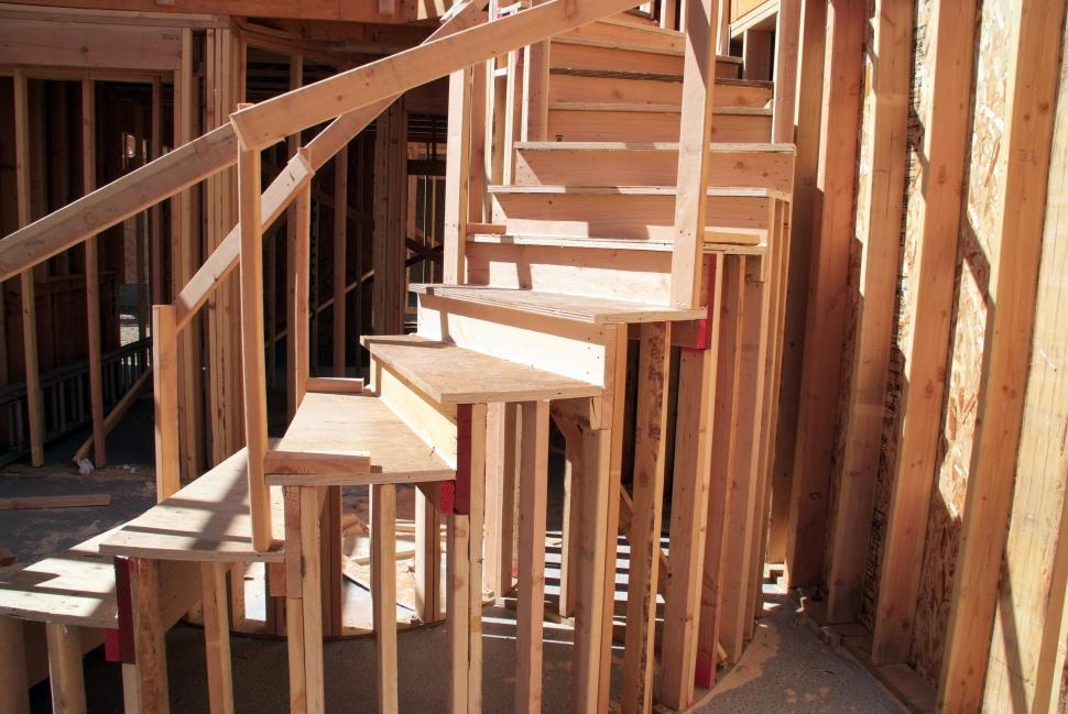 New Home Construction Stairs