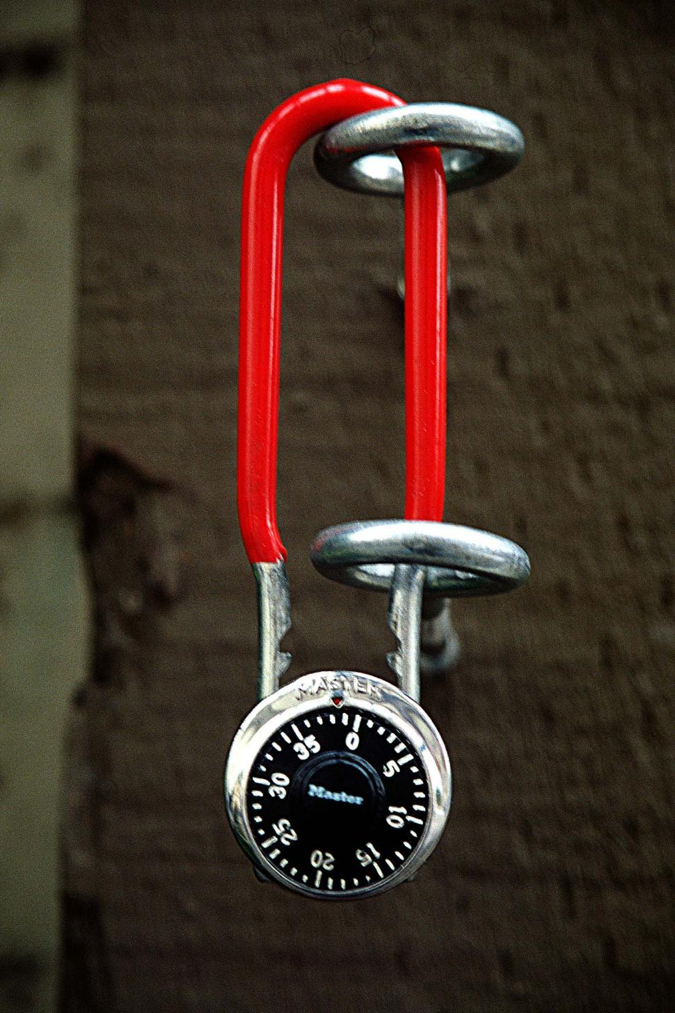 Download Free Stock HD Photo of Combination lock Online