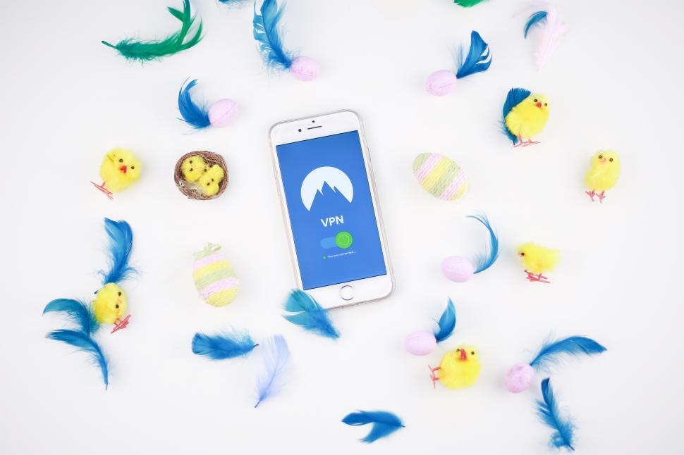 Download Free Stock HD Photo of VPN for staying safe over spring break - Mobile Phones Online