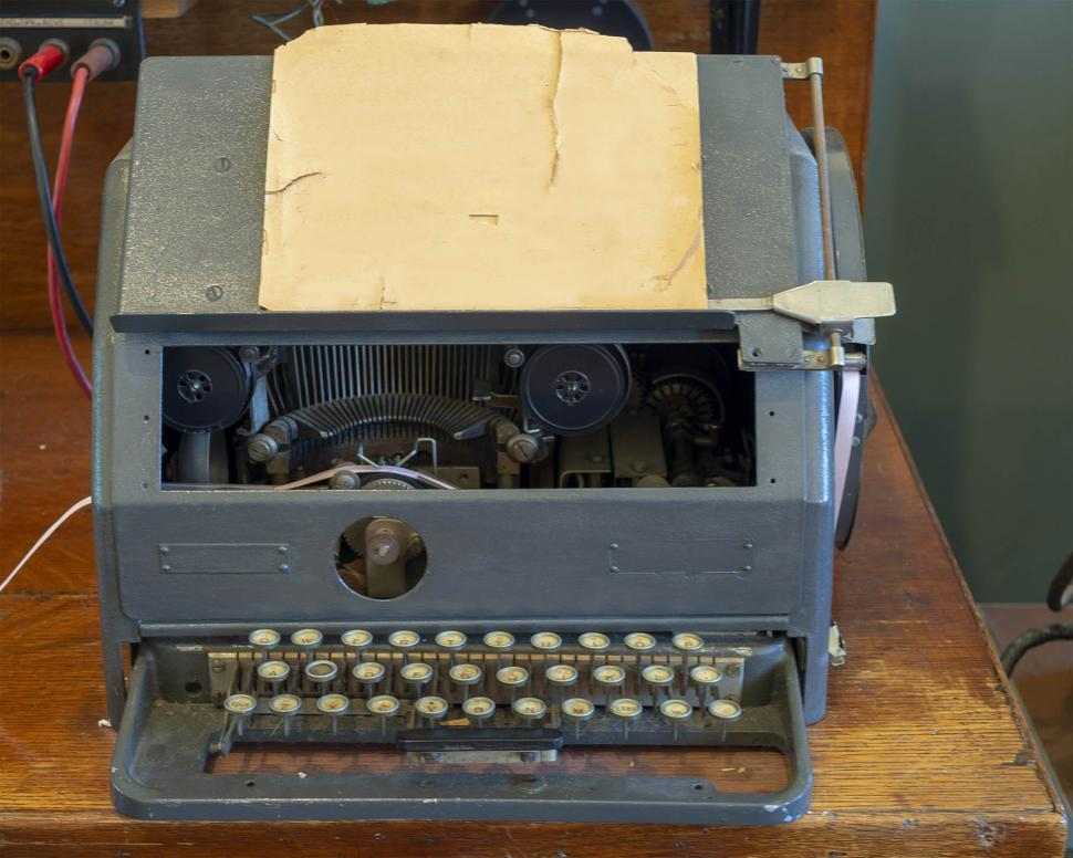 Download Free Stock HD Photo of Type writer Online