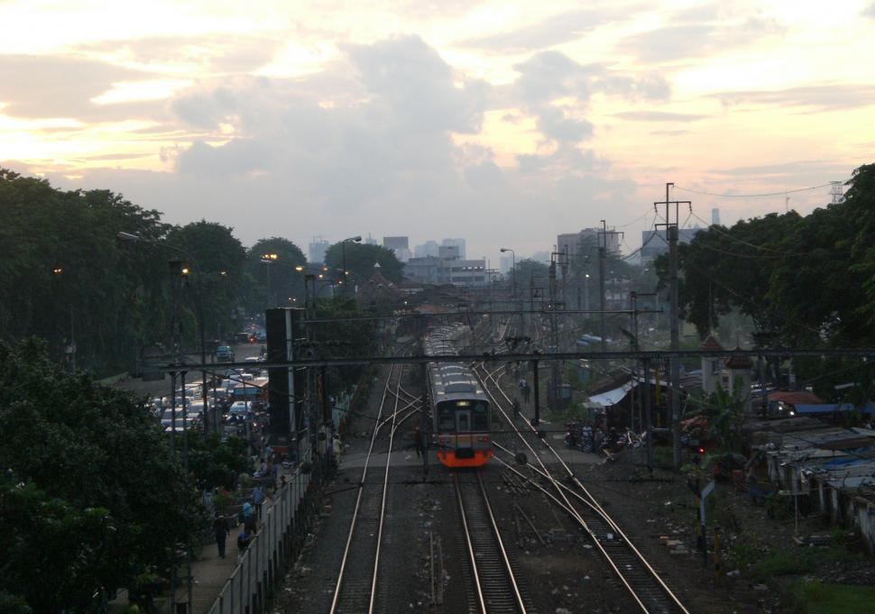 Download Free Stock HD Photo of Jakarta railway track Online