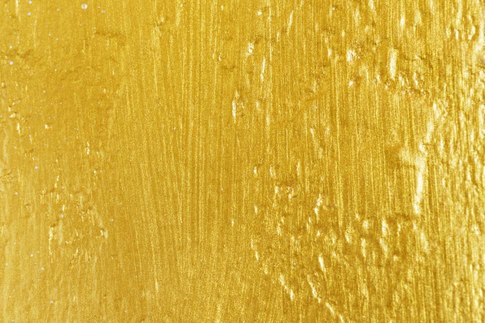 Download Free Stock HD Photo of Abstract golden paint texture Online