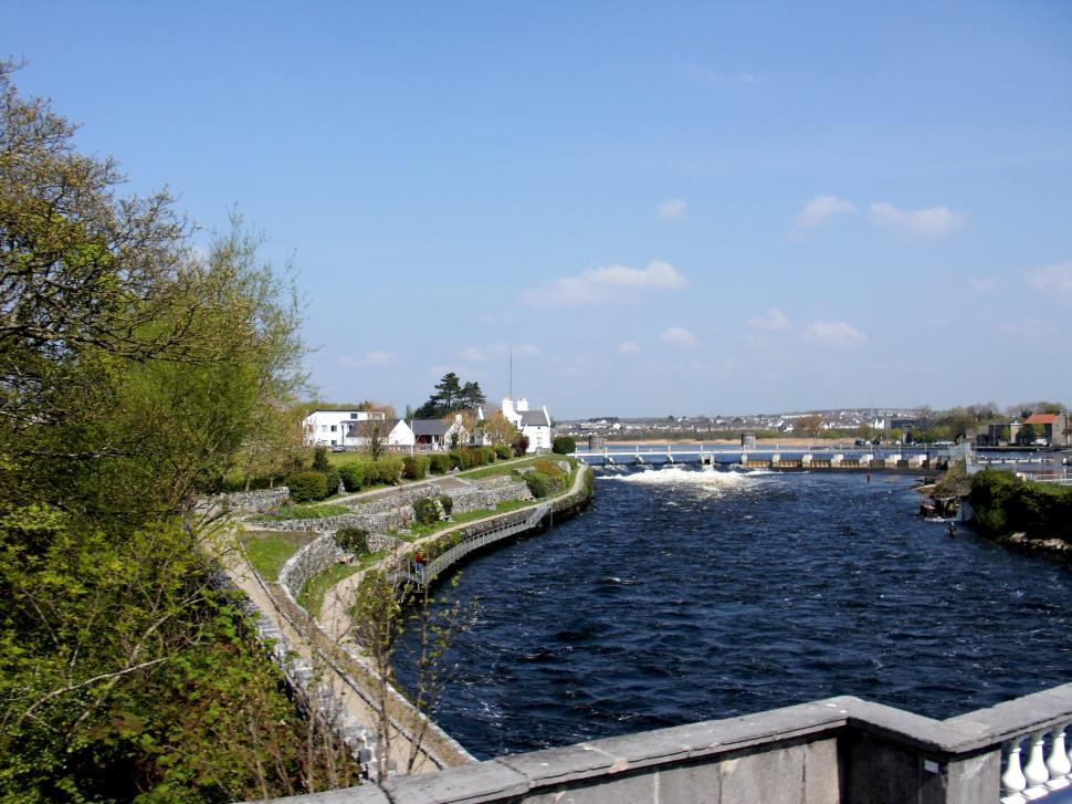 Download Free Stock HD Photo of Ireland - Galway - Corrib River Online