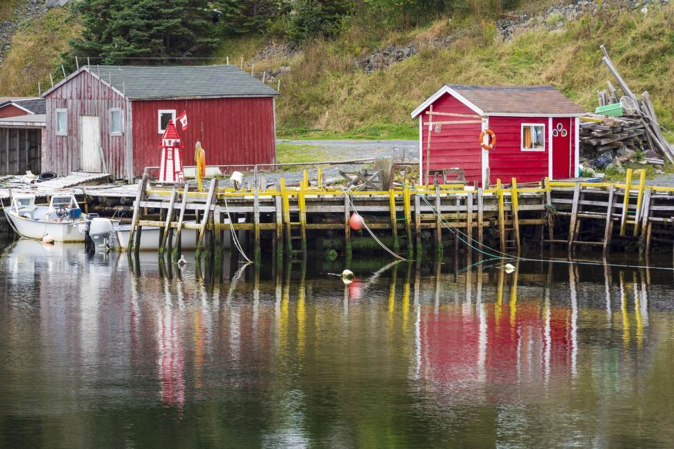 Download Free Stock HD Photo of Fishing stages Online