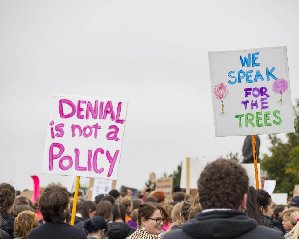 Download Free Stock HD Photo of Climate Protest Online