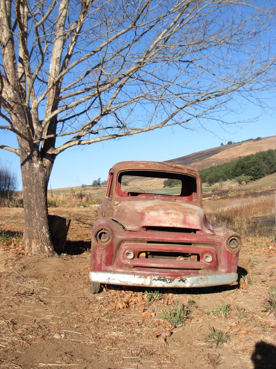 Download Free Stock HD Photo of Old international pick up Online