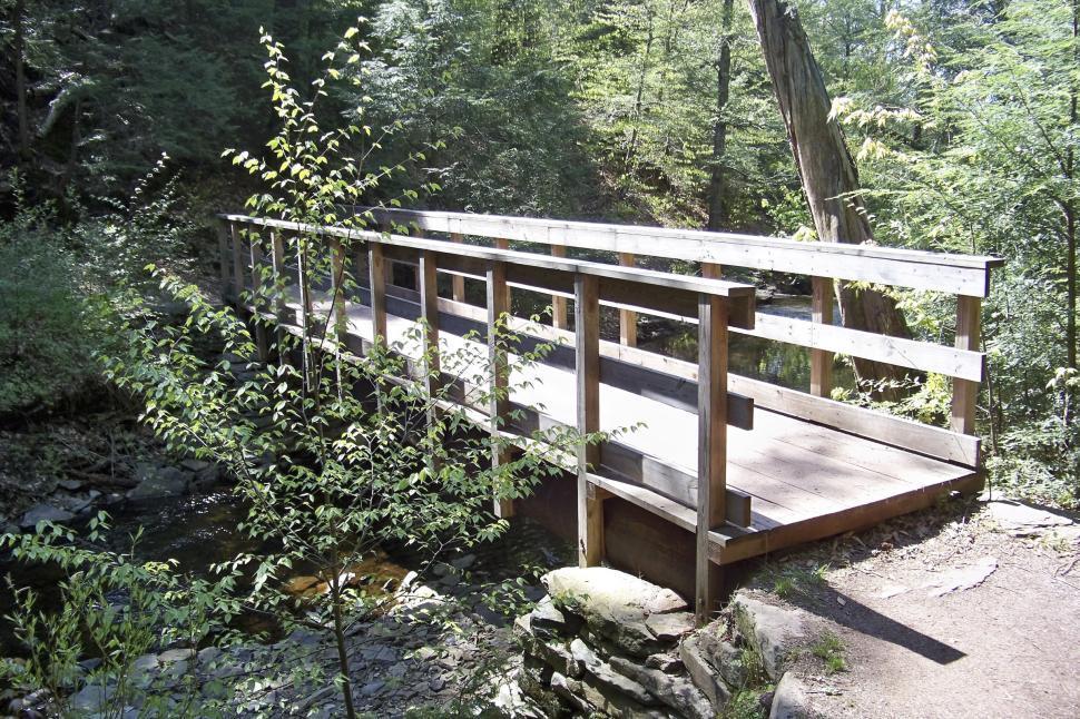 Download Free Stock HD Photo of Wooden foot bridge Online