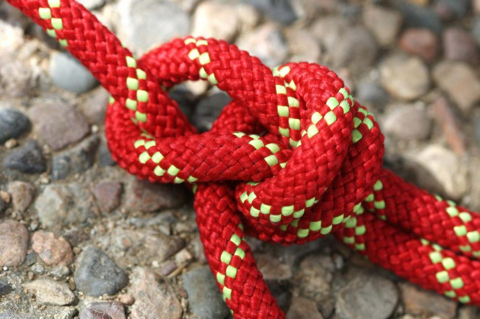 Download Free Stock HD Photo of Double Bowline knot Online