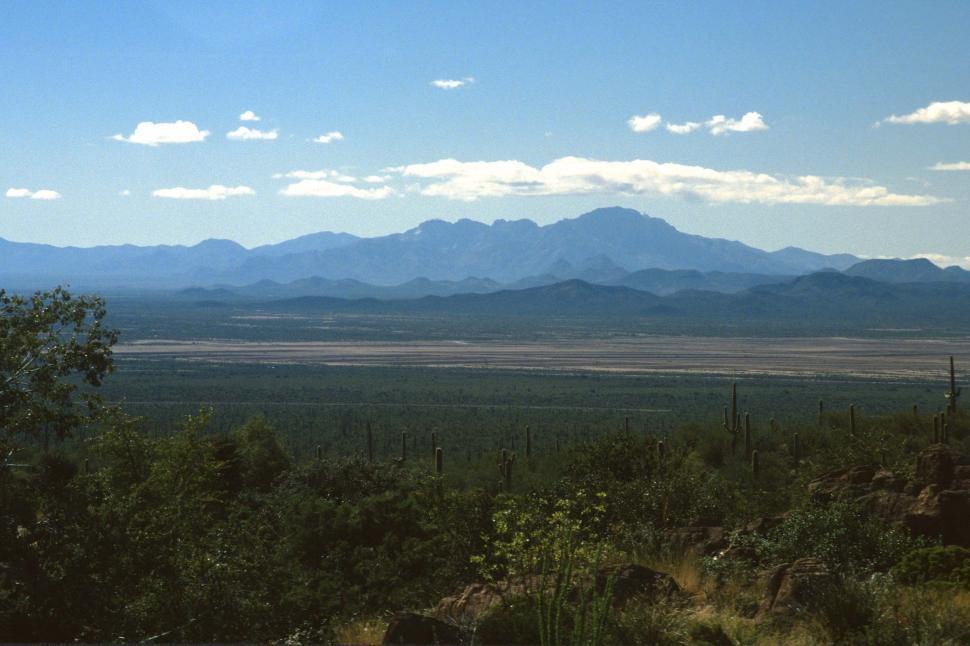 Download Free Stock HD Photo of Sonoran Desert landscape Online