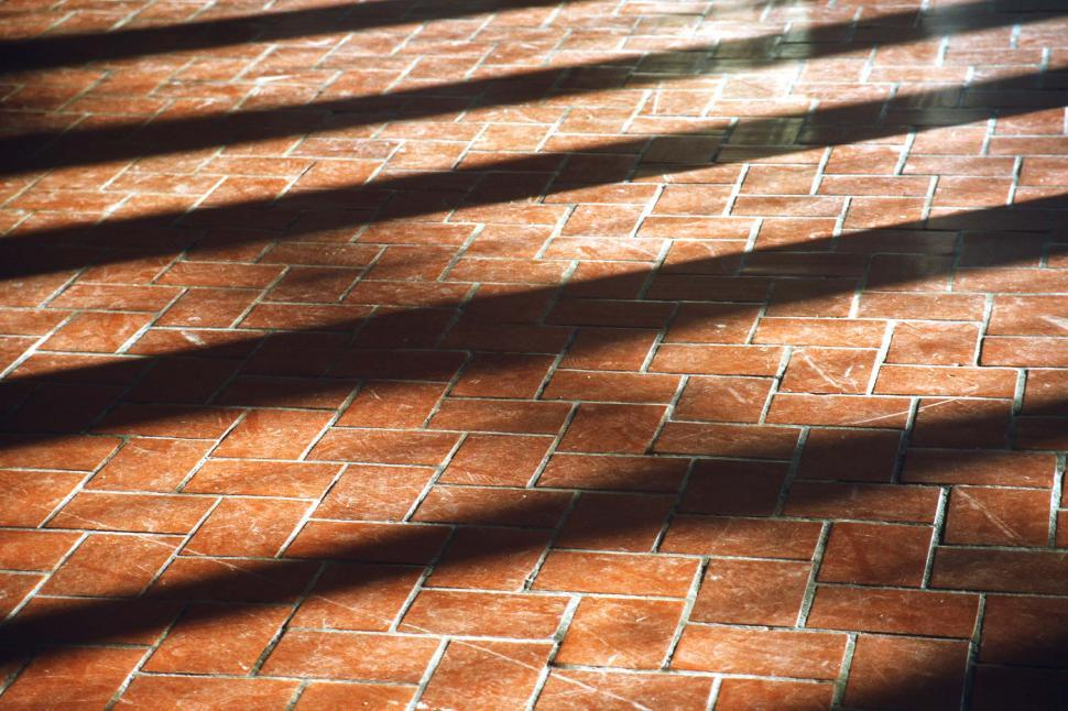 Download Free Stock HD Photo of Ellis Island Immigration Station brick floor Online