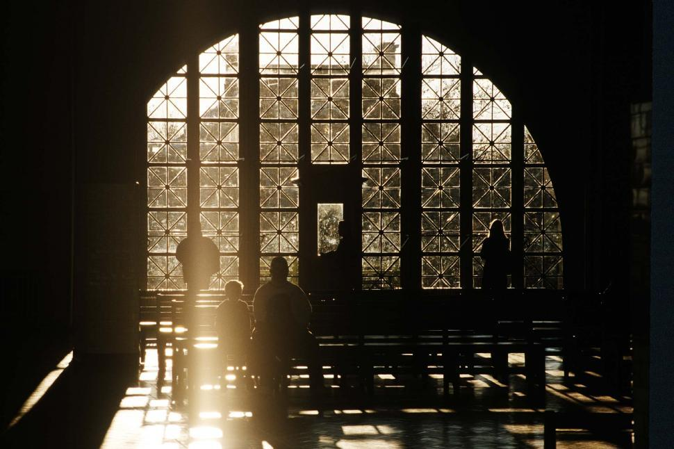 Download Free Stock HD Photo of Ellis Island immigration station interior Online