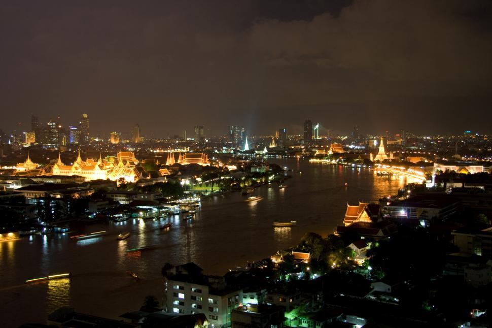 Download Free Stock HD Photo of Chao Phraya river, Bangkok Online