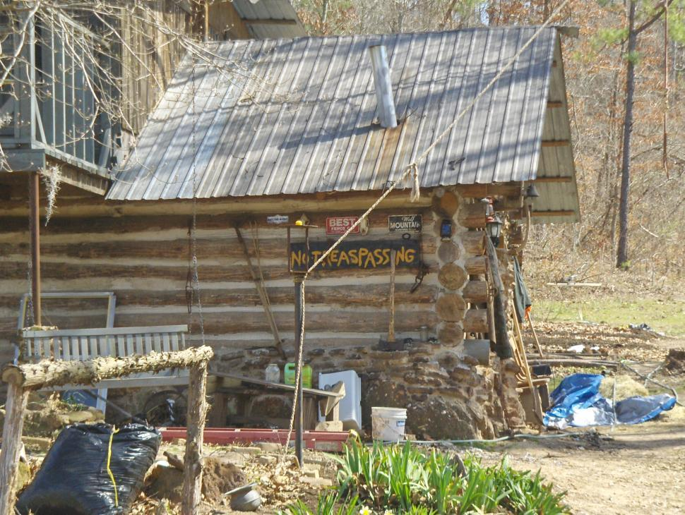 Download Free Stock HD Photo of A cabin the country Online