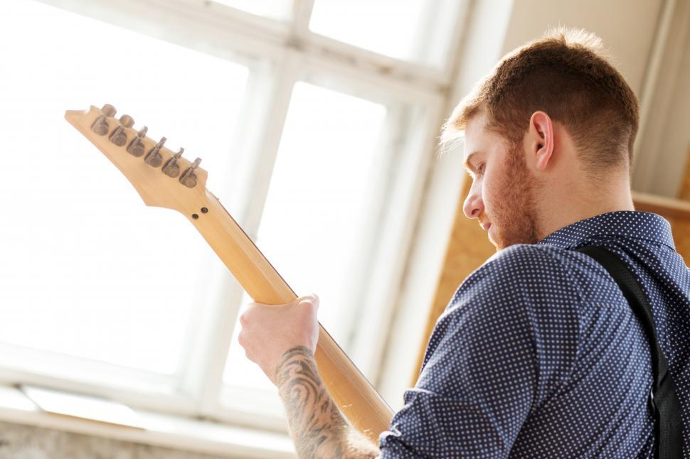 Free Stock Photo Of Man Playing Electric Guitar Download Free Images And Free Illustrations