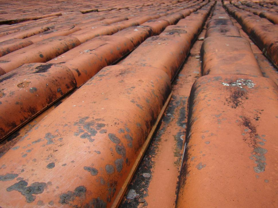 Download Free Stock HD Photo of Ceramic roof tiles Online