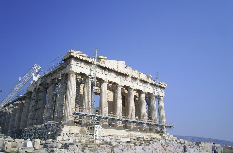 Download Free Stock HD Photo of Greek Temple Ruins Online