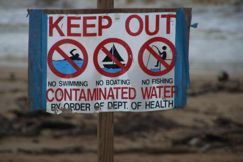 Download Free Stock HD Photo of Contaminated Beach Online