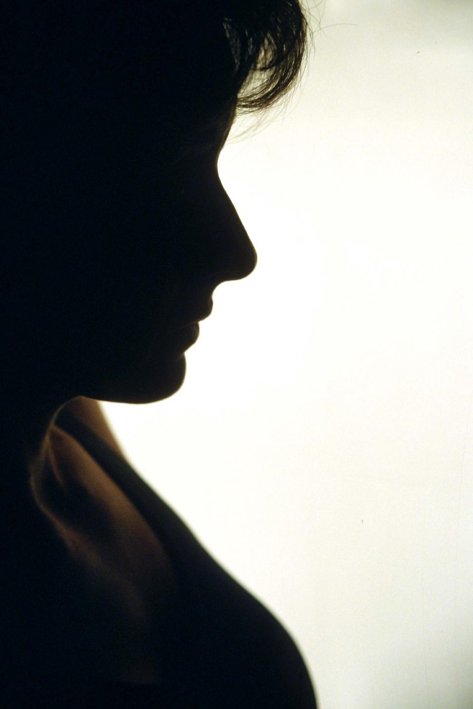 Download Free Stock HD Photo of Woman in Silhouette Online