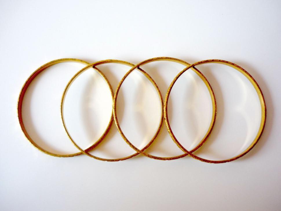 Free Stock Photo of Gold Bangles - Freerange Stock
