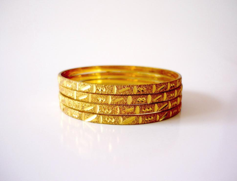 Get Free Stock Photo of Gold Bangles Objects Online | Download ...