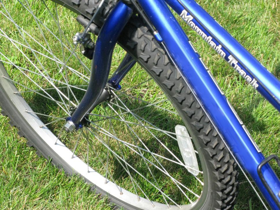 Download Free Stock HD Photo of Front Bike Tire Online
