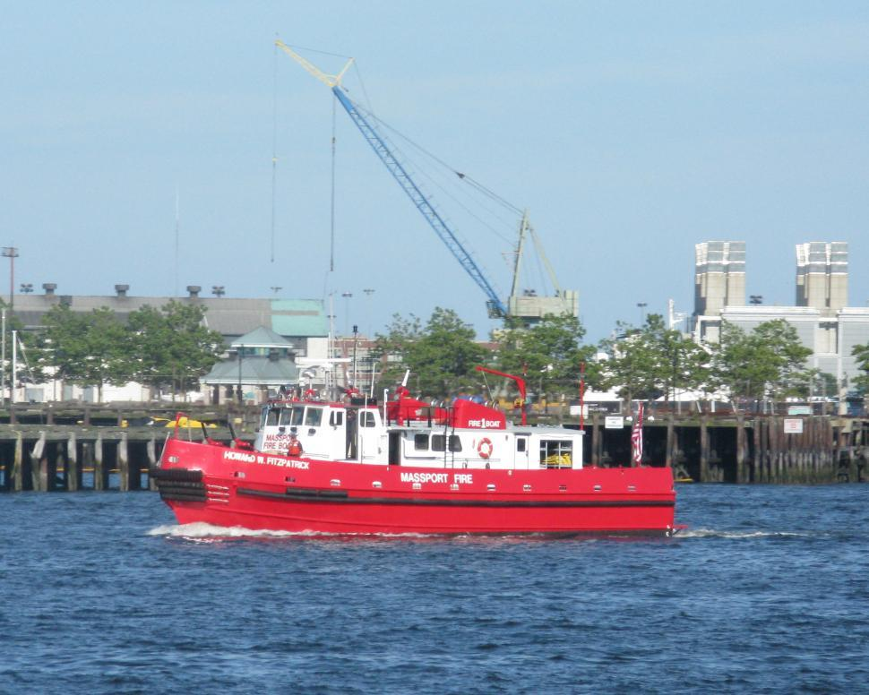 Download Free Stock HD Photo of FIreboat Online