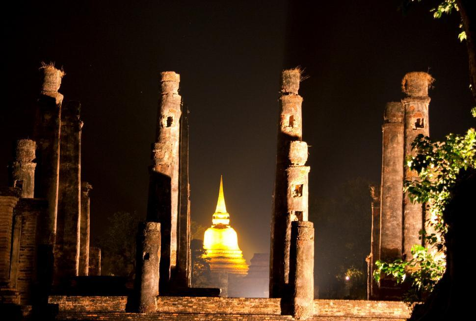 Download Free Stock HD Photo of Golden bell temple Online