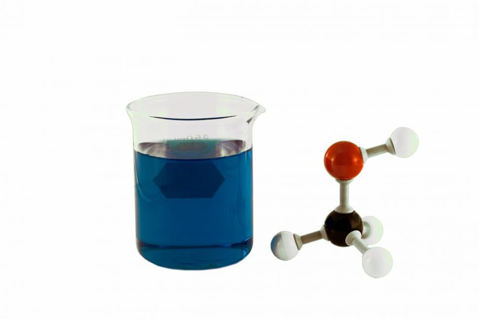 Download Free Stock HD Photo of Chemical solution and molecule Online