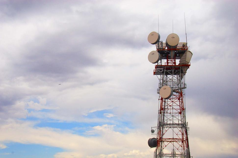 Download Free Stock HD Photo of Microwave Transmission Tower Online