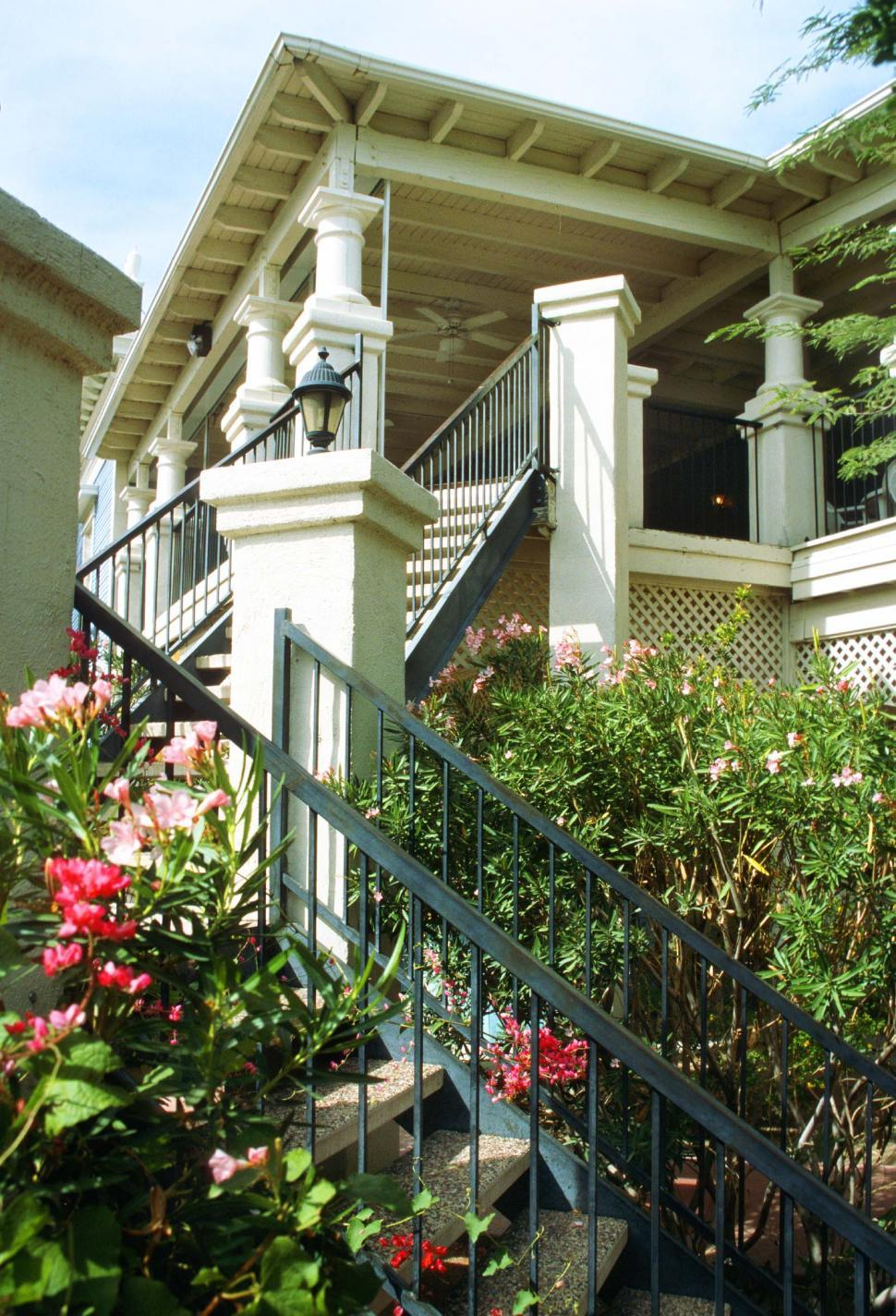 Download Free Stock HD Photo of Balcony and Steps Online