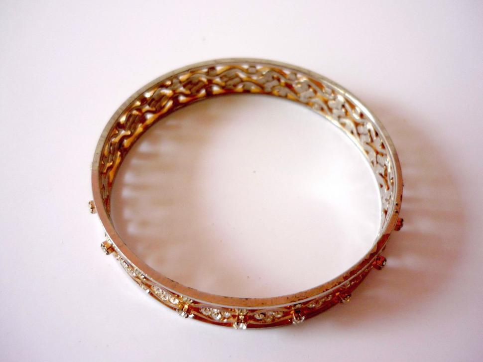 Download Free Stock HD Photo of Gold Bangles Online
