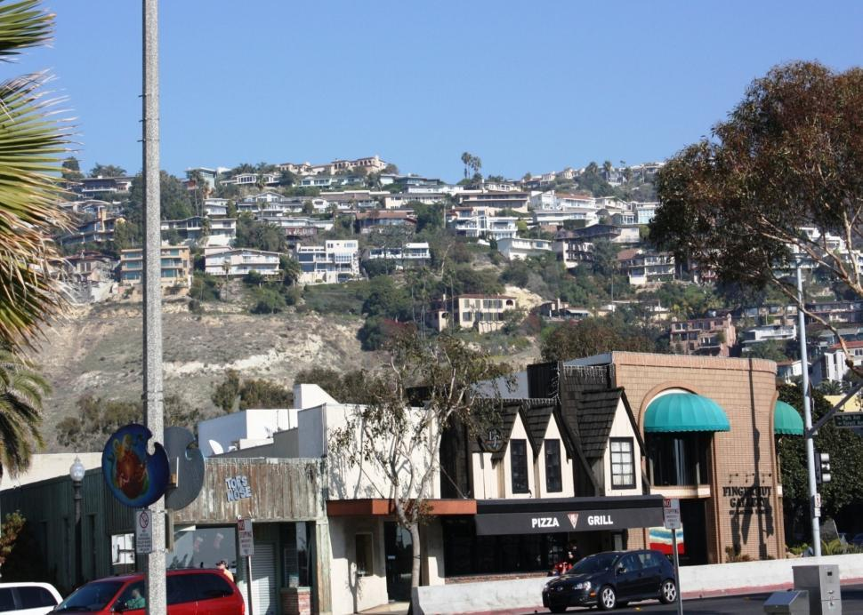 Download Free Stock HD Photo of Laguna Beach City - A view Online