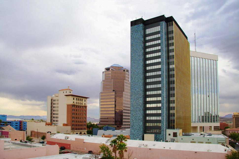 Download Free Stock HD Photo of Tucson City Buildings Online