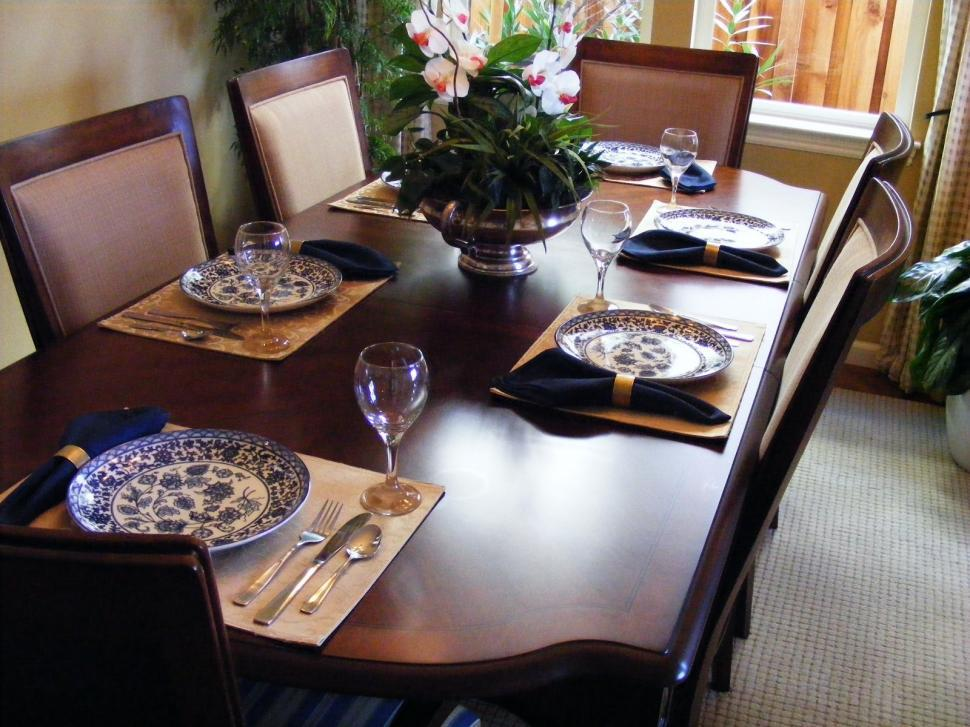 Download Free Stock HD Photo of Dinning Rooms and Place Setting Online