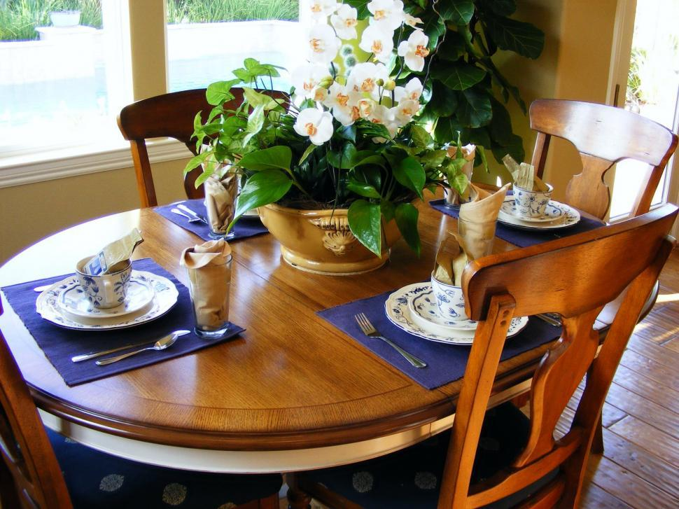 Download Free Stock HD Photo of Dining Rooms and Place Setting Online