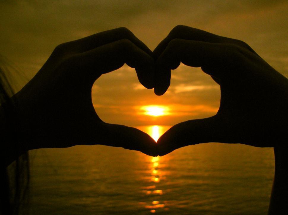 Download Free Stock HD Photo of heart hands Online